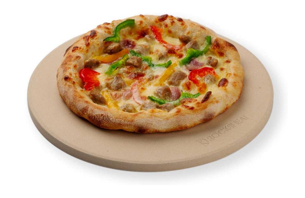 ROCKSHEAT 26 x 1.2 cm Round Cordierite Pizza Stone